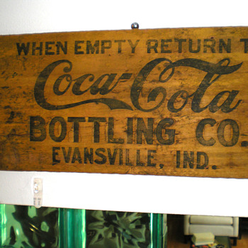 Old Coca-Cola Wooden Sign?