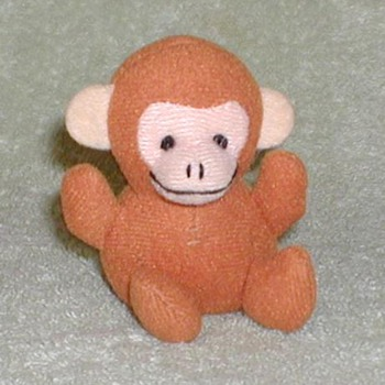 Circus Promotional Toy Monkey