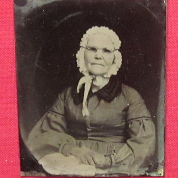 Tintype of Older Lady - Photographs