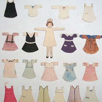 Handmade Paper Dolls