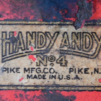 "A recent find from the ""Pike Manufacturing Company"" in an unusual place."