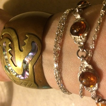 Two amazing bracelets I may never take off - Costume Jewelry