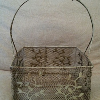 Pretty Metal Basket