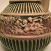 Rosevile Donatello Basket-handled Vase