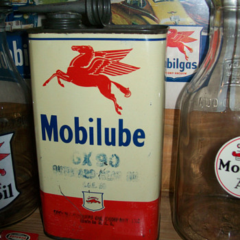 Mobilube can - Petroliana