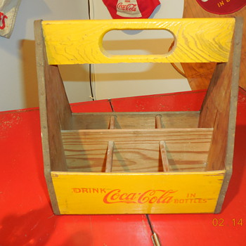 1940 Coca-Cola 6 Bottle Carton