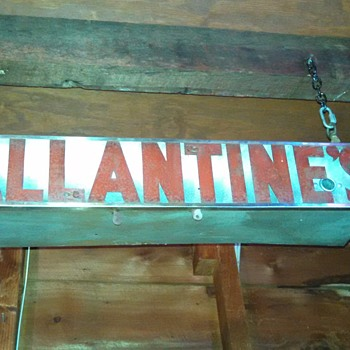 Old Ballantine's Metal Neon Sign