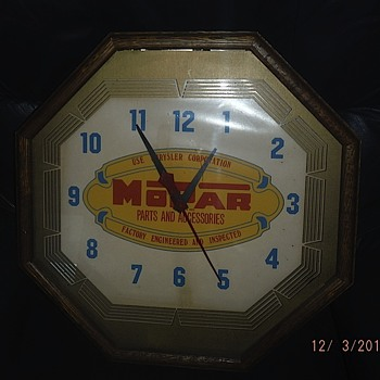 Mopar Wall Clock
