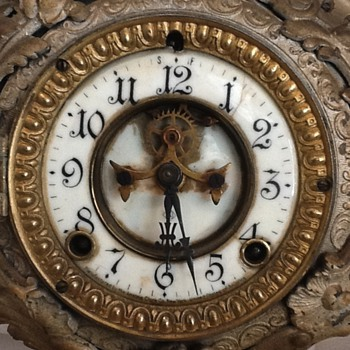 Need help identifying this Ansonia - Clocks