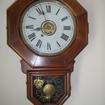 New Haven 10 Inch Octagon clock