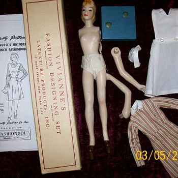 1940's Nurse mannequin and Patterns  - Dolls
