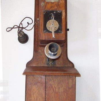 National Automatic Telephone Company 1901 - Telephones