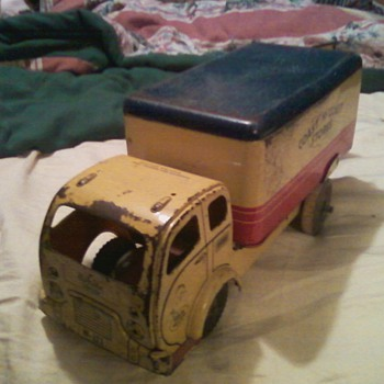 Found in the Attic ..Coats to coast stores stamp on side - Model Cars