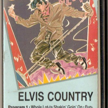 Elvis (Presley) Country - Cassette Tape - Music Memorabilia