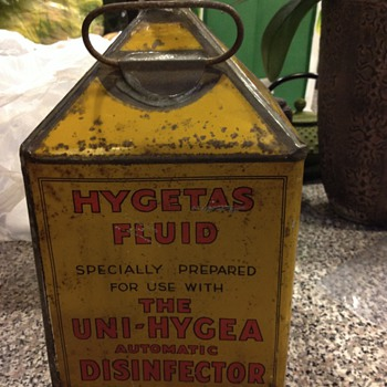 Hygetas Fluid - 1930's ???? - Advertising