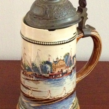 Antique beer stein?