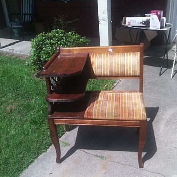I love this garage sale fond - Furniture