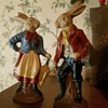 well dressed hares