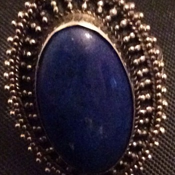 Antique lapis ring - Fine Jewelry