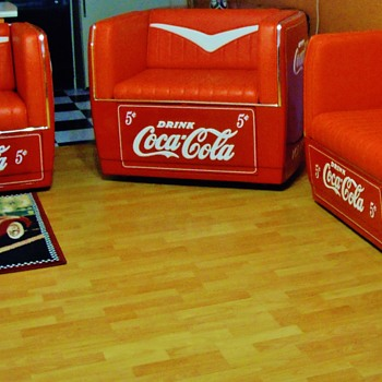 COCA COLA COUCHES
