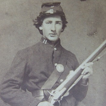 Young Wisconsin Civil War soldier