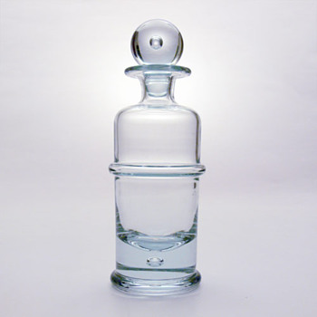 REGIMENT decanter, Sidse Werner (Holmegaard, 1972) - Art Glass