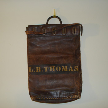Santa Fe railroad bag
