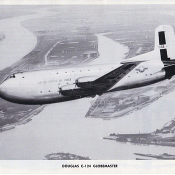 Douglas Aircraft Series C-124 Globemaster - Advertising