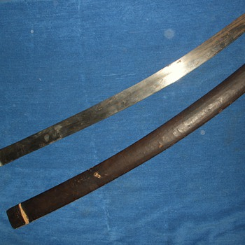 Strange sword, need information - Military and Wartime