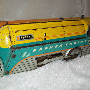 Wyndott wind up train