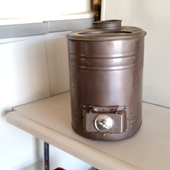 Mini wood stove - Kitchen