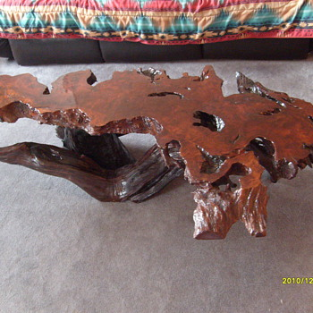 6' Calif. Redwood Coffee Table...