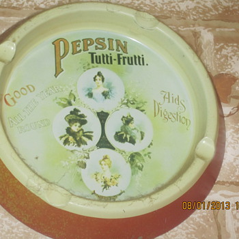 Pepsin Ashtray - Advertising