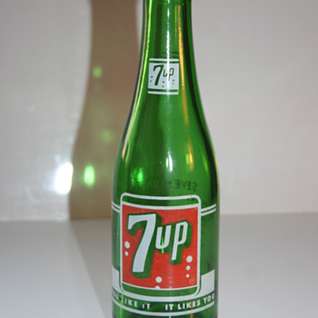 7up belgian bottle - Bottles