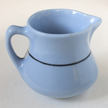 Buffalo China Blue Lune Creamer