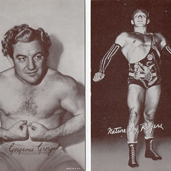 Wrestling Exhibition Cards from the 50's - Cards