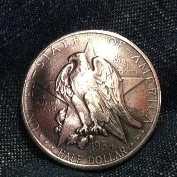 1934 Texas Centennial Half Dollar