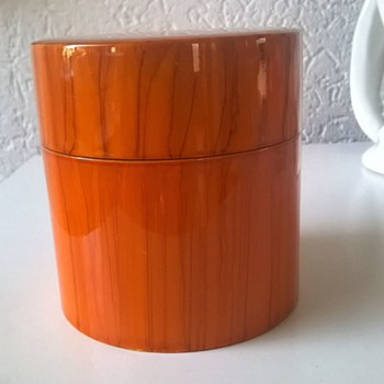 Yamanaka Japan Lacquerware Tea Caddy Thrift Shop Find 1 Euro ($1.12)