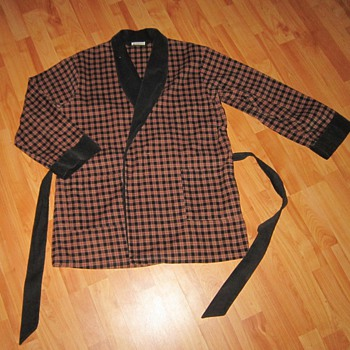 Men's 40's Smoking Jacket/Coat Weldon - Mens Clothing