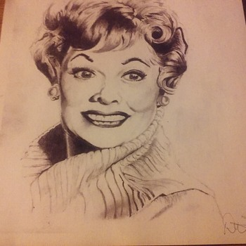 Lucille Ball. - Visual Art