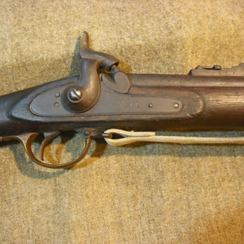 British Enfield Pattern 1853 Rifle Musket, Indian Manufacture - Military and Wartime