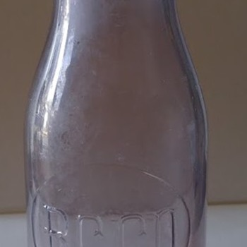 Purple Milk bottle  B.C.CO