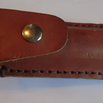 Leather knife case!  For Asian Restaurants!!!