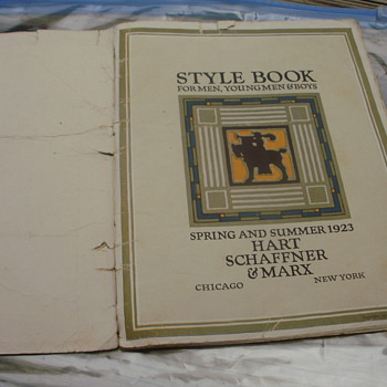 1923 Hart Shaffner & Marx Style Book (Spring & Summer) - Advertising