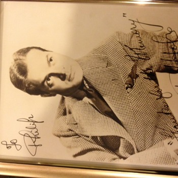 Bob Hope signed