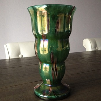 Kralik Millefiori Vase - Art Glass