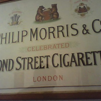 Philip Morris' First Storefront Sign?? - Signs