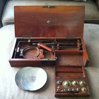 Vintage Apothecary scale - Tools and Hardware