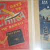 DECO AVIATION ART TISSUE POSTER CHINA CLIPPER AIRPLANE