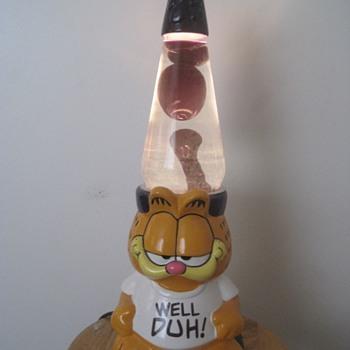 Garfield Lava Lamp - Lamps
